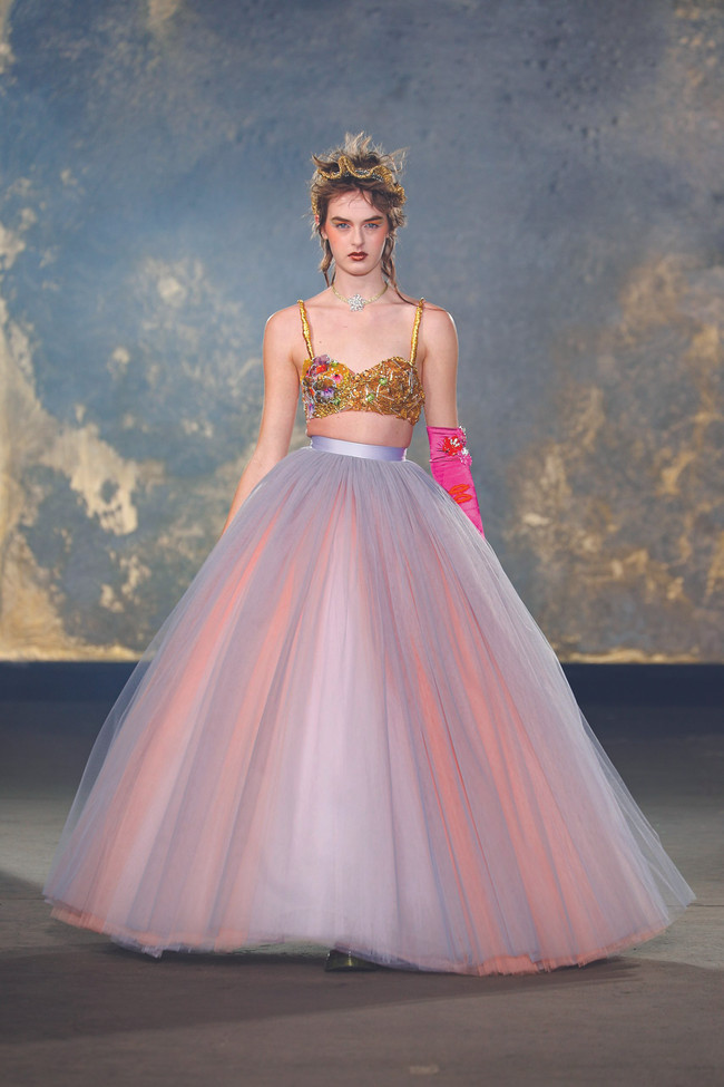 Spring's Couture Gold Rush