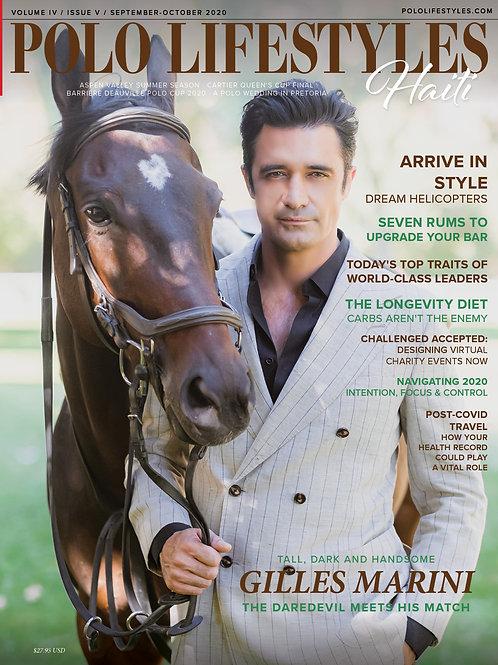 Polo Lifestyles-Haiti: Sept-Oct 2020 Daredevil Gilles Marini