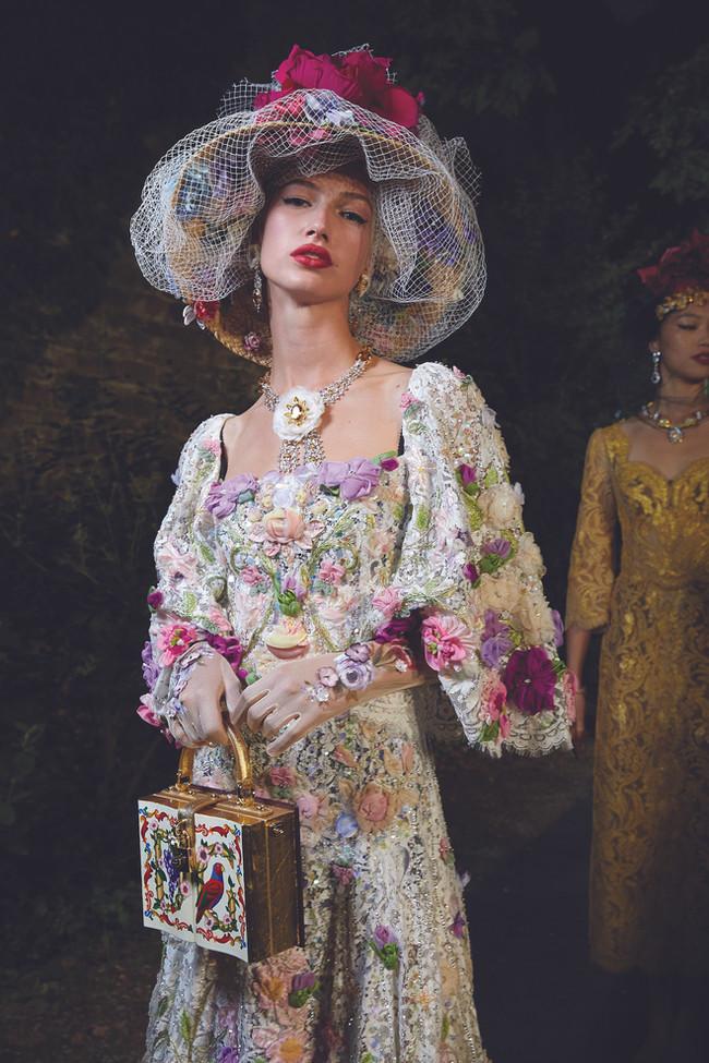 Dolce & Gabbana's Garden Fashion Feat In Florence