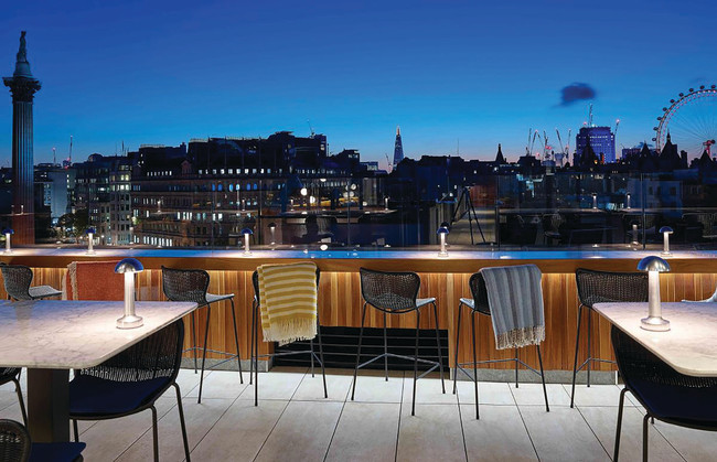 Four Favorite Rooftops in London