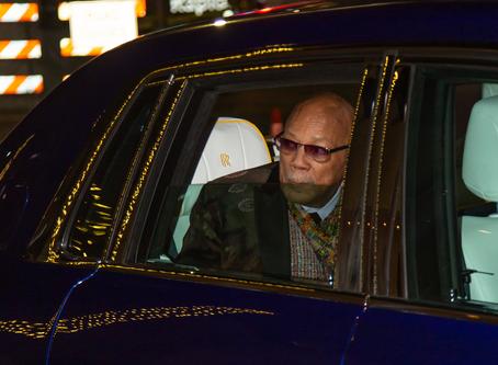 Honoring an Icon: Quincy Jones Rolls Up in a Phantom