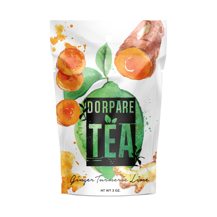 Dorpare loose ginger tea dorpare.com