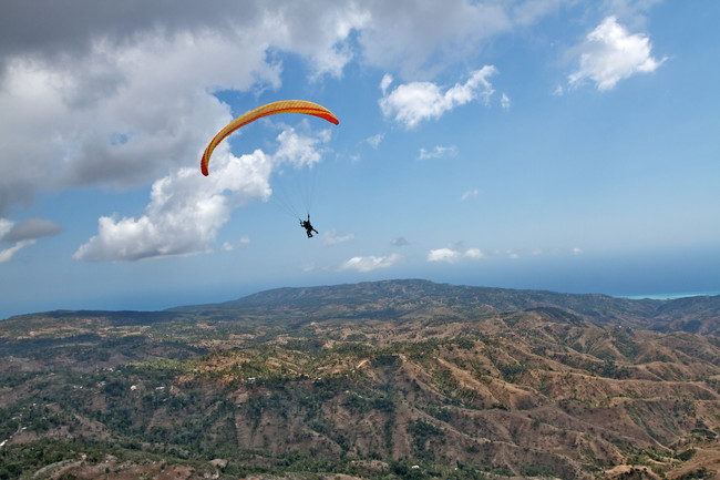 Extreme Sports: Paragliding in Haiti