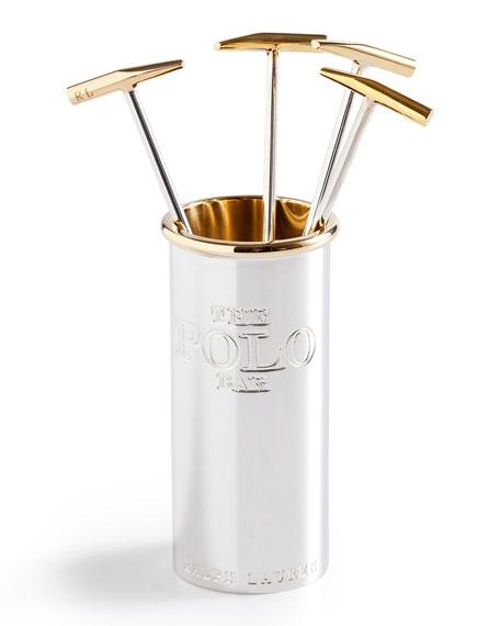 Polo Ralph Lauren cocktail stirrers