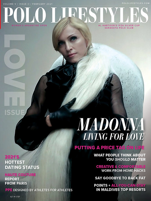 Polo Lifestyles: Feb 2021 Living for Love