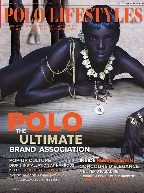 Polo Lifestyles: September 2019 Polo - The Ultimate Brand Association