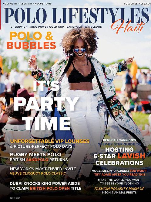 Polo Lifestyles Haiti: Aug 2019 Polo & Bubbles