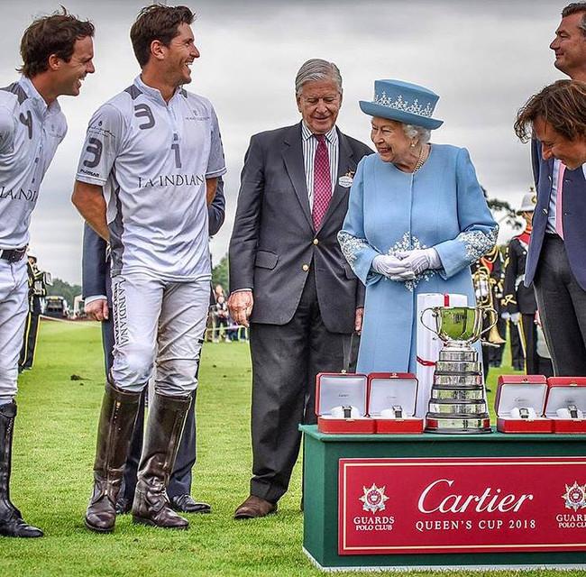 La Indiana Victorious in Cartier Queen's Cup