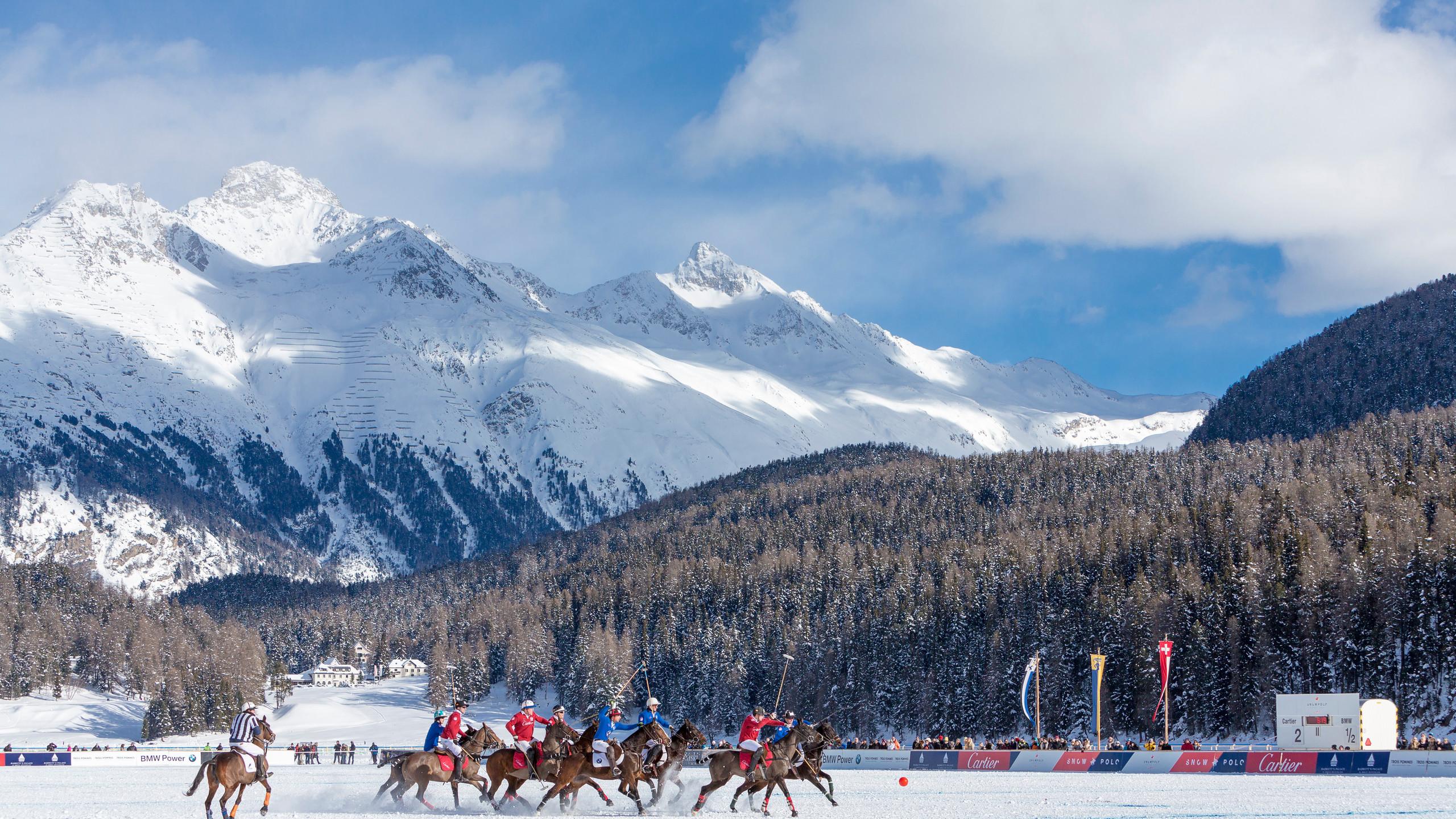 St. Moritz Snow Polo