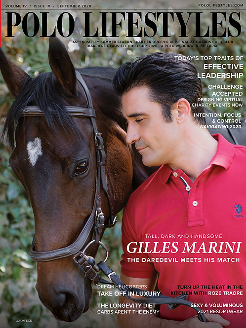 Polo Lifestyles: Sept 2020 Gilles Marini Meets His Match