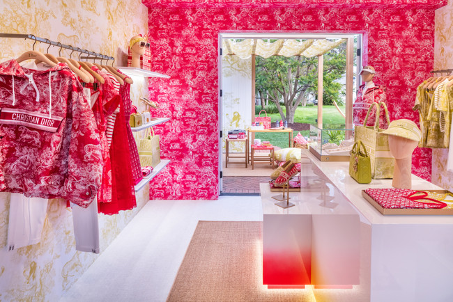 Dioriviera Pop-Up Opens in Montecito Just in Time for Polo