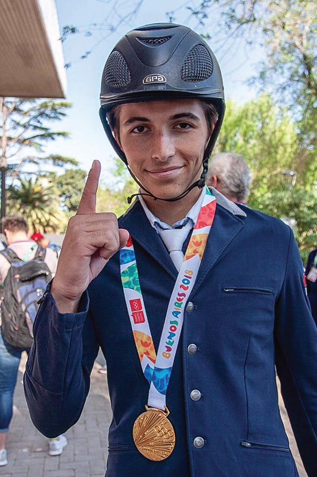 Gold Medal for Mateo Coles at Youth Olympics