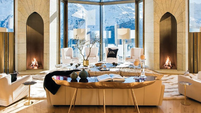$185 Million Swiss Castle hits market in St. Moritz
