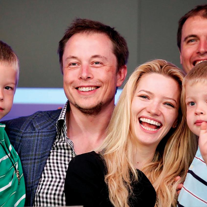 Elon Tusk Family