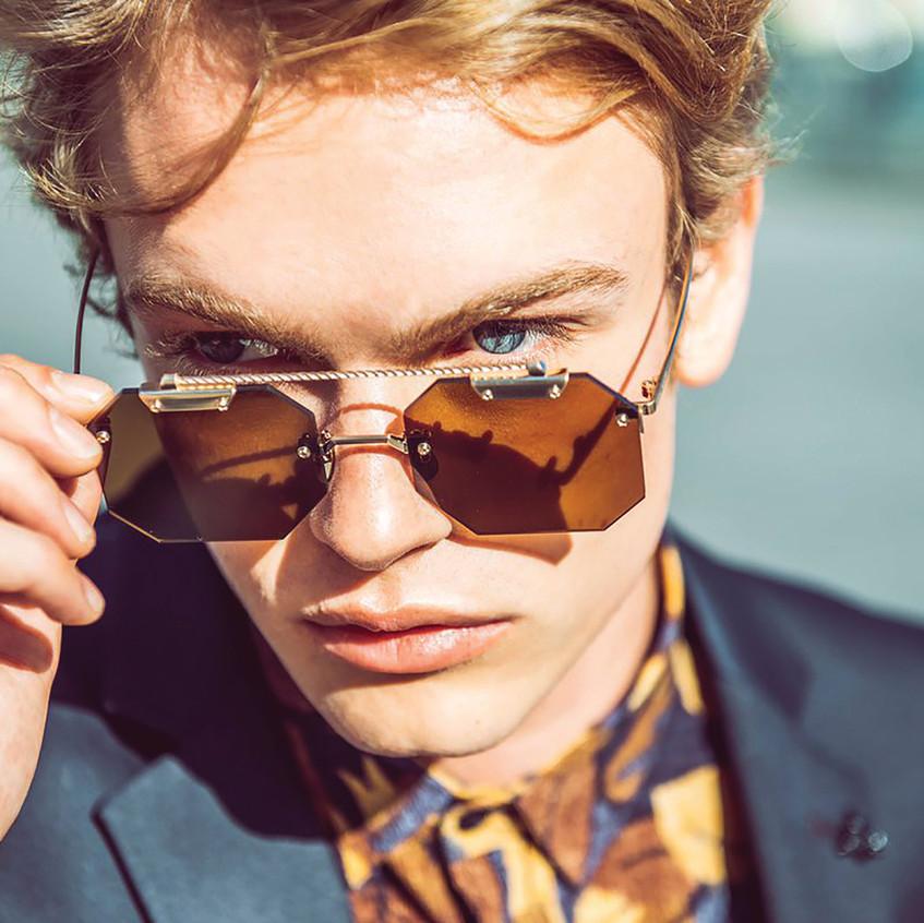 Men's Victorian-era Eyewear