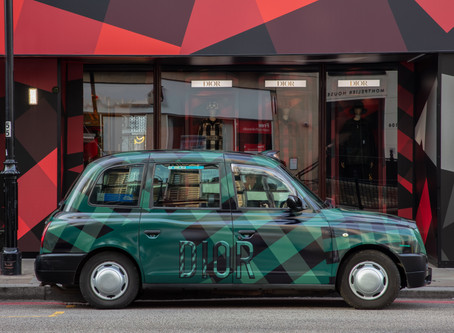 Dior's London Pop-Up Nestled inside Harrod's Department Store