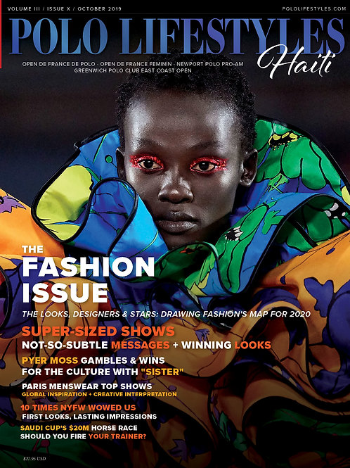Polo Lifestyles Haiti: October 2019 Polo - The Fashion Issue