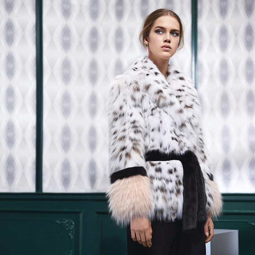 Fendi lynx and sable $187,000