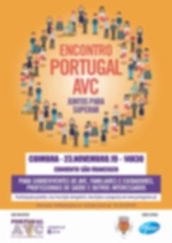 Cartaz Encontro Portugal AVC - Coimbra.j