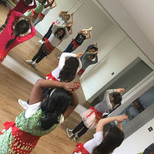 Today's holiday workshops included Bolly