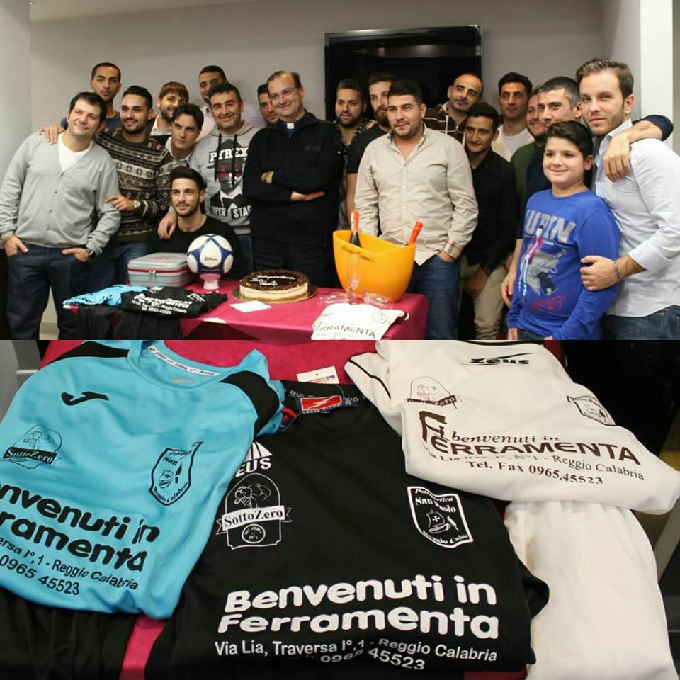 Il gruppo della Polisportiva San Paolo
