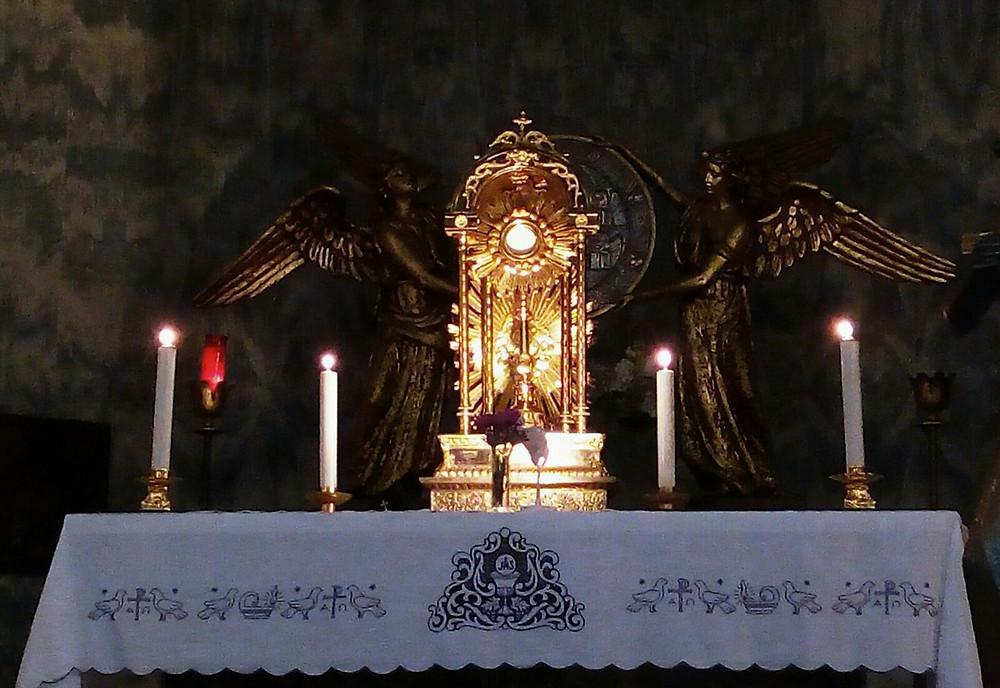Sacre Quarantore, momento forte di spiritualità
