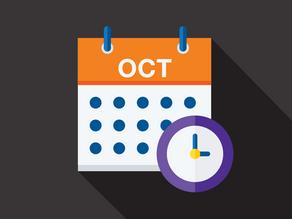 October 2021 Due Dates