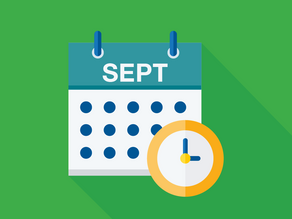 September 2021 Due Dates