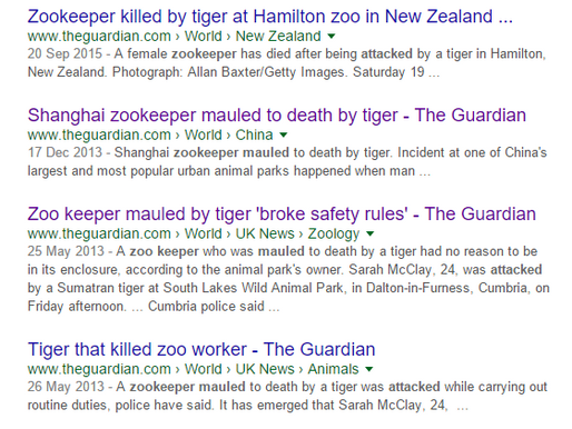 Tigers, Trucks & Complacent Zookeepers (#13)