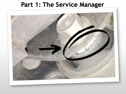 Part 1 - Reminding a Lexus Dealer Network why Standardised Work matters (#49)