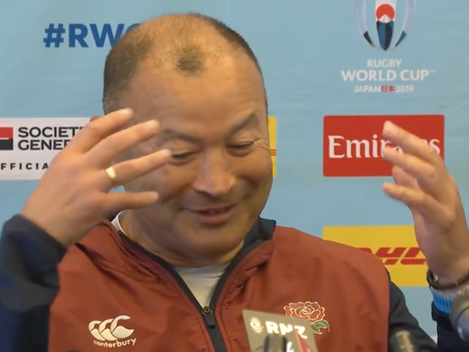 "Eddie Jones & England Rugby ""mate, we're just trying to get better"" (#46)"