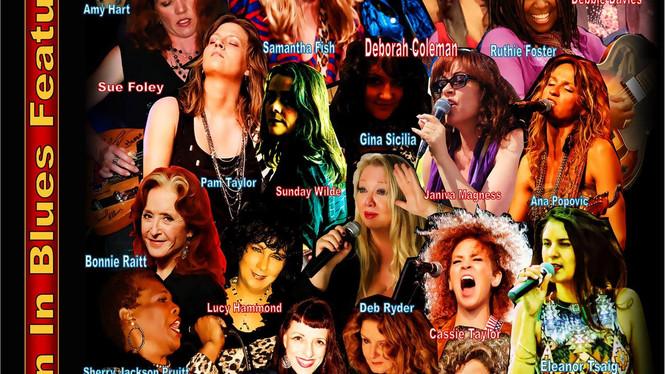 Blues-E-News Women In Blues Edition
