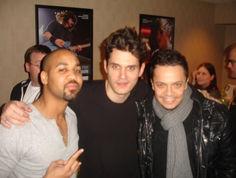 Hang with my brother Charles Willson (keys for John Mayer) and John Mayer