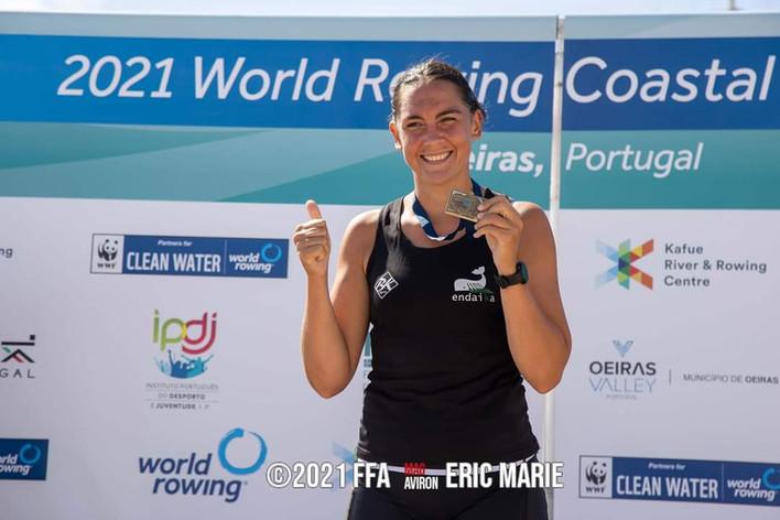 Nouvelle médaille aux Championnats du Monde 2021