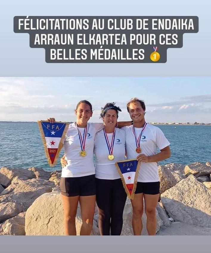 Endaika Champions de France 2021 !