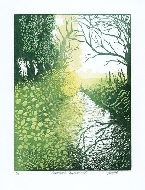 'Riverbank Reflections'