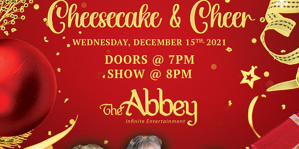 The Golden Gals Live: Cheesecake and Cheer