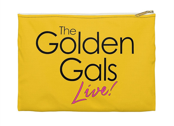Golden Gals Cosmetic Travel Bag