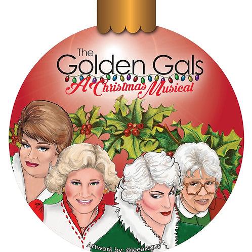 Golden Gals: A Christmas Musical Magnet