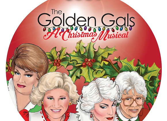 Golden Gals: A Christmas Musical Magnet