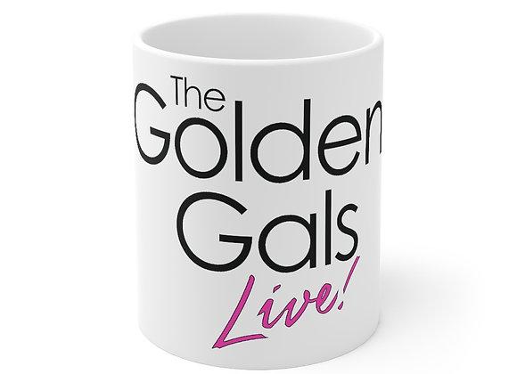 The Golden Gals Live! Mug