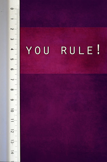You Rule - Du ruler!