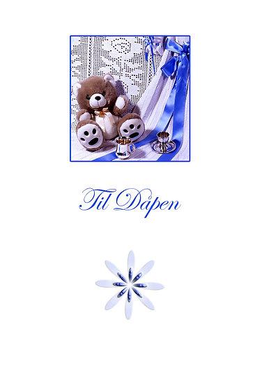 Dåpskort til gutten