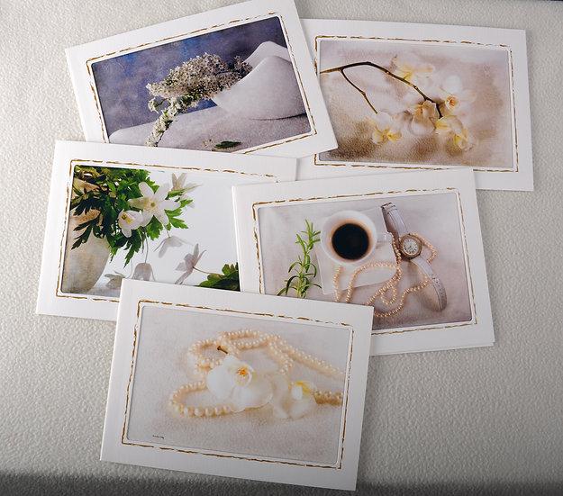 Fotokort i duse toner