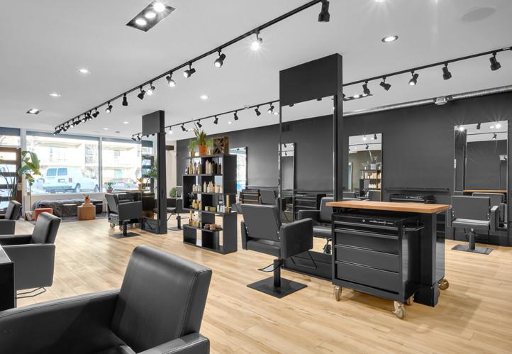stylist stations // cutting room