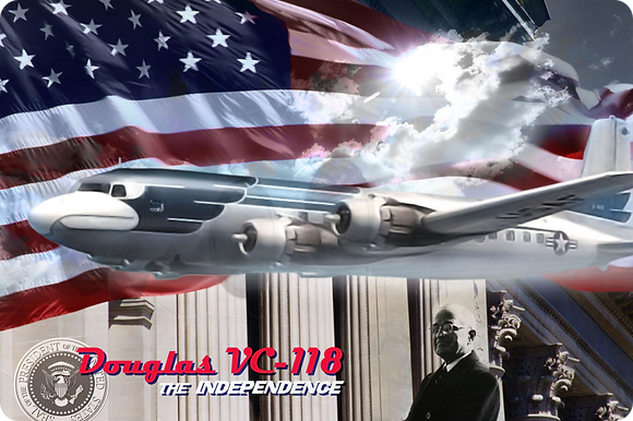 """Douglas VC-118 """"The Independence"""" 1.144"""