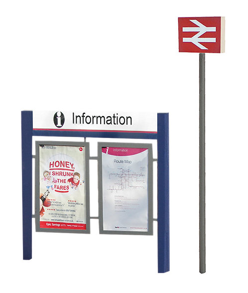 00 Station Signage Set