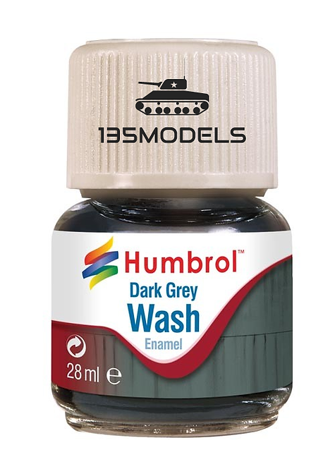 Enamel Wash Dark Grey 28ml
