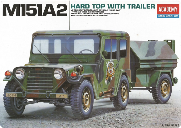 M151 ¼-ton 4×4 Utility Truck 1/35