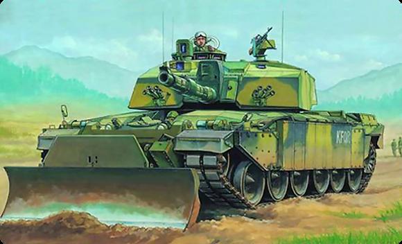 Challenger 2 MBT KFOR 1.35